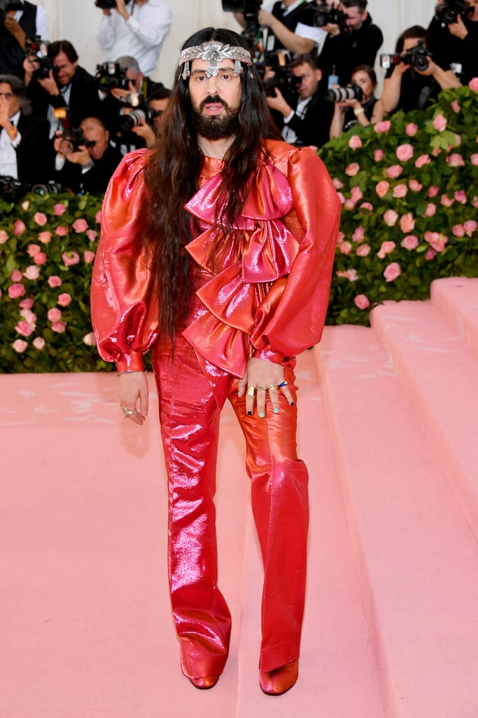 Alessandro Michele at the 2019 Met Gala