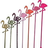 Flamingo Drink Stirrers (Set of 6) ($16)