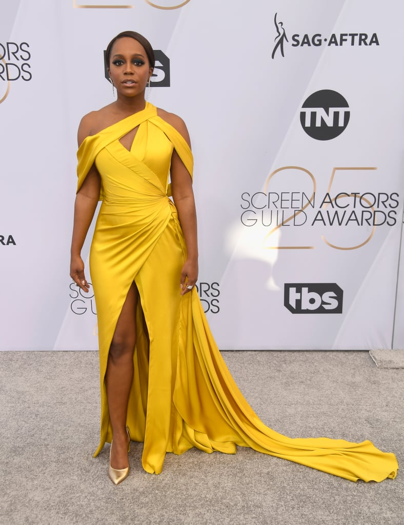 Aja Naomi King at the 2019 SAG Awards