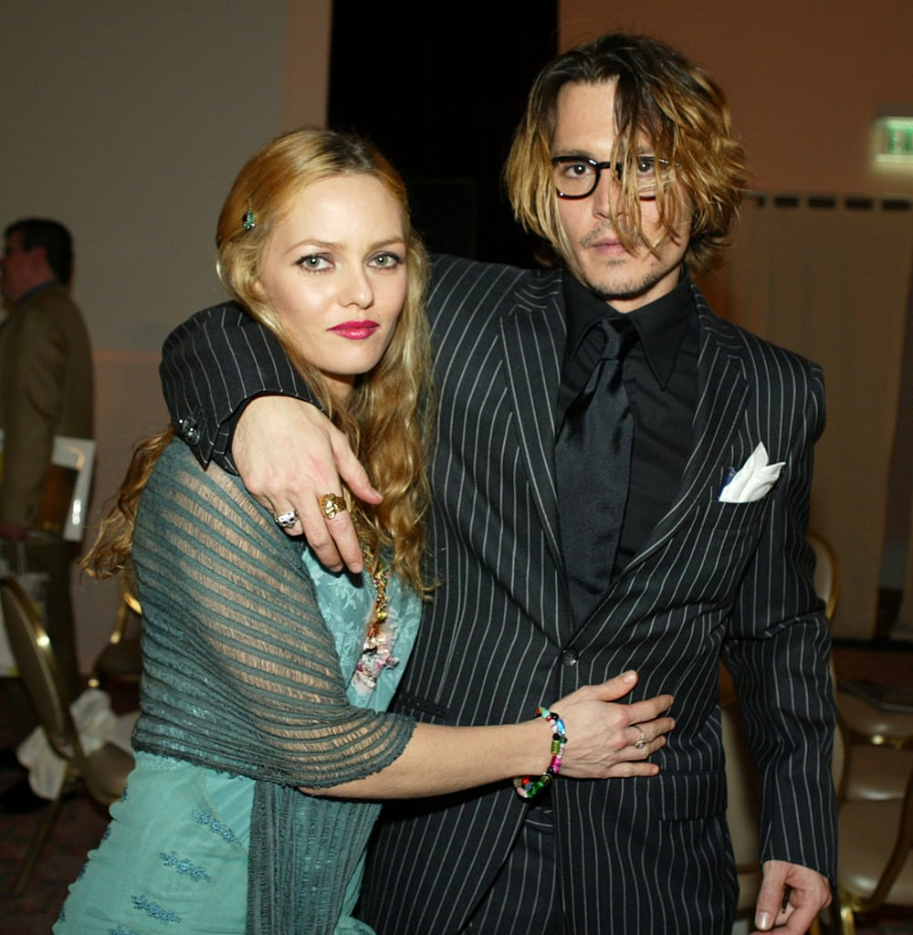 Johnny and Vanessa showed affection at the 2004 Critics' Choice Awards in LA.