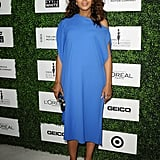 Kerry Washington showed off her growing baby bump at the Essence Black Women in Hollywood Luncheon in LA on Thursday.