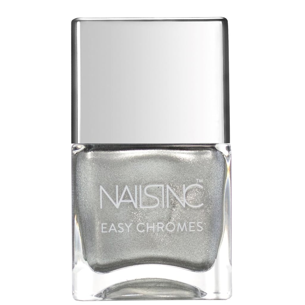 Nails Inc Easy Chrome Nail Polish Collection in Steely Stare