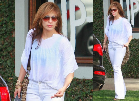 Jennifer Lopez in LA