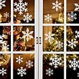 Snowflake Window Clings