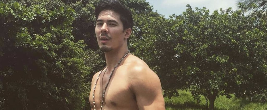 Let's All Take a Minute to Stare in Wonder at Lewis Tan's Shirtless Body