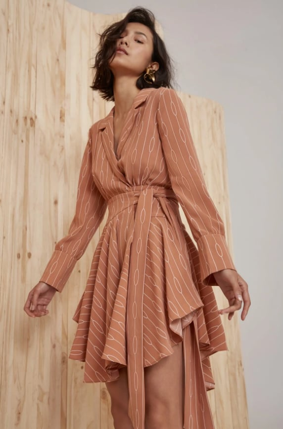 C/MEO Collective Everlasting Long Sleeve Dress, $219.95