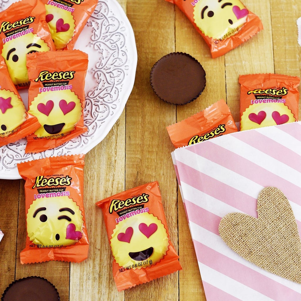 We Already Have a Peek at Target's Valentine's Day Candy, and Reese's Emoji Are Involved