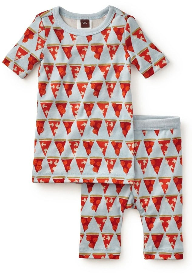 Pizza in the Piazza Two-Piece Pajama Set