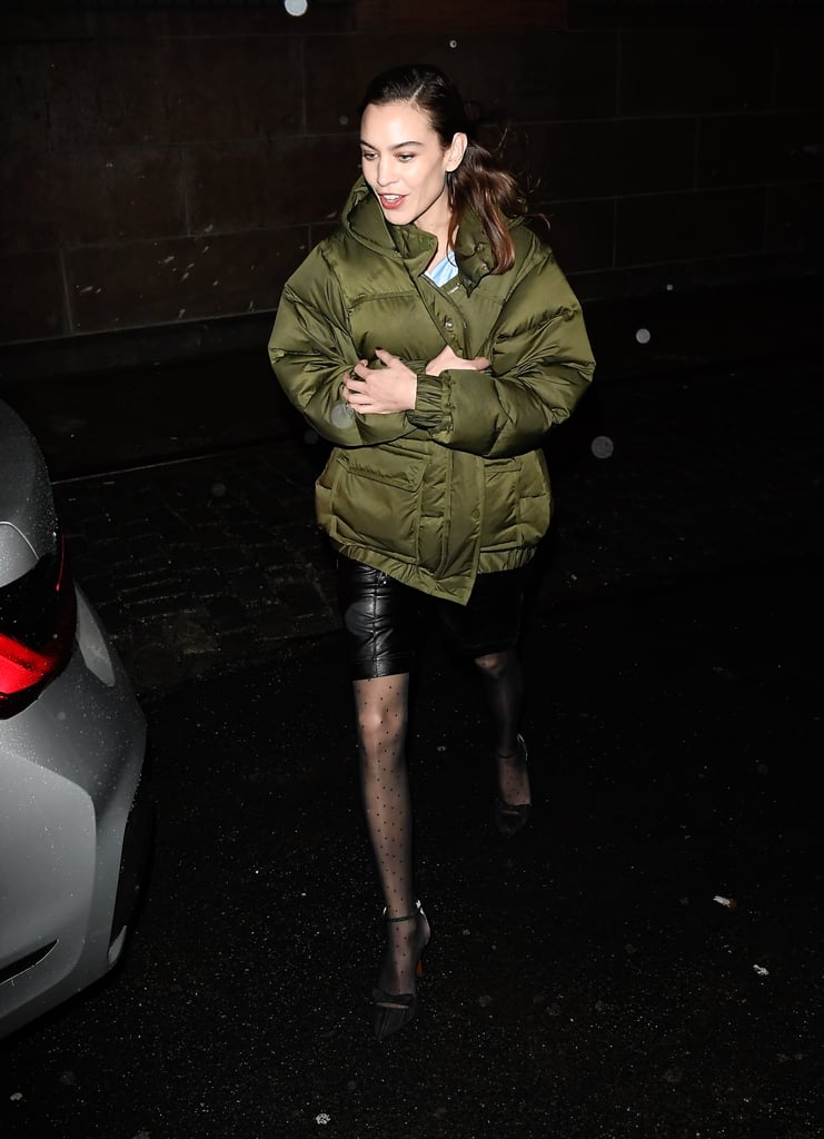 Alexa Chung's Street Style at New York Fashion Week