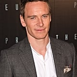 Michael Fassbender at the Paris Prometheus premiere.