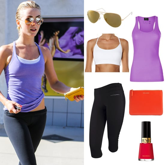 What Julianne Hough Wears to the Gym