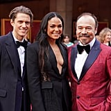 Aaron Tveit, Karen Olivo, and Danny Burstein