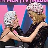 Nicole Kidman and Naomi Watts Kissing Pictures