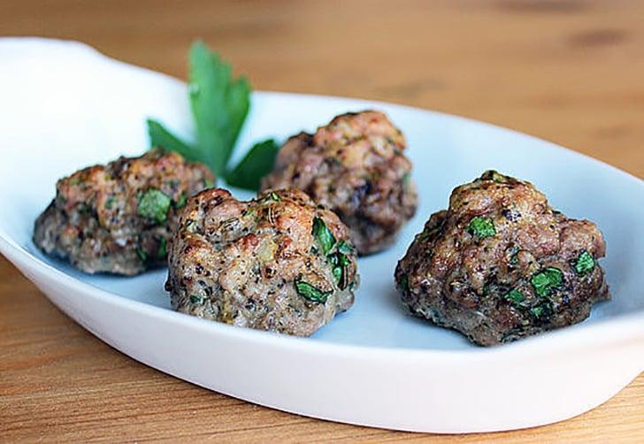 Lunch and Dinner: Czech-Spiced Meatballs