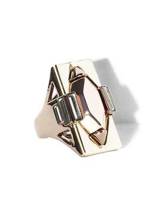 This Vince Camuto Art Deco Ring ($58) has a sleek vibe that's perfect for cocktails.