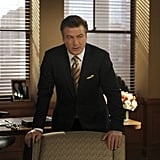 Alec Baldwin as Jack Donaghy on 30 Rock.