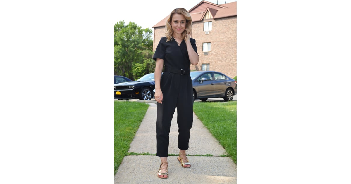 63e3e5542a12 Item  Topshop Judo Wrap Jumpsuit ( 115) Why I Bought It  The lazy ...