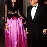 Nancy and Henry Kissinger in 1990