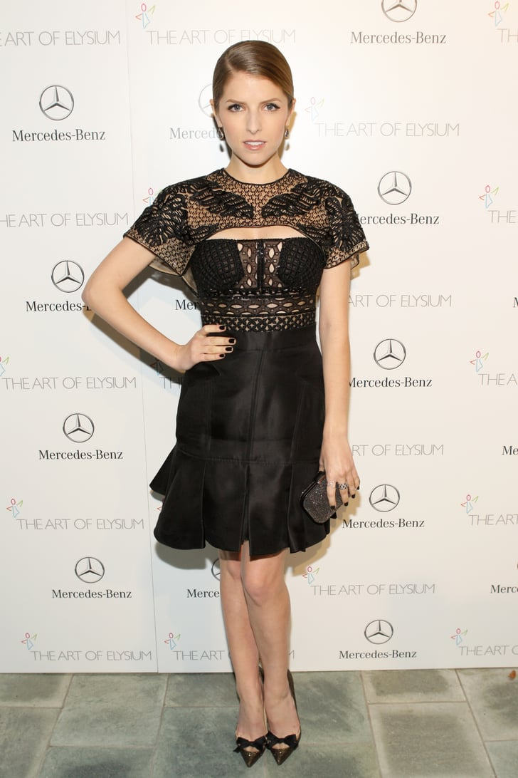 Anna Kendrick at the Art of Elysium Heaven Gala 2014