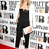 Laura Whitmore at the Brit Award Nominations.