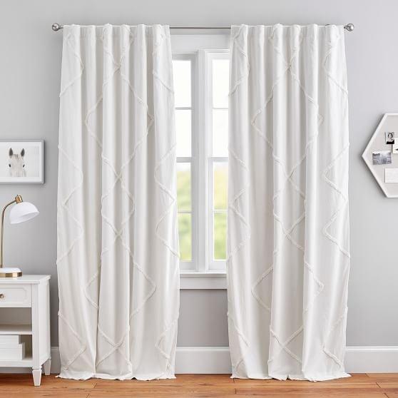 Ashlyn Tufted Blackout Curtain