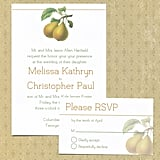 Pear Wedding Invitation