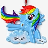 My Little Pony Name Ornament