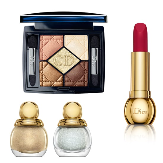 Sparkle about in Christian Dior's Golden Winter Holiday Collection, which includes gorgeous polishes, lipsticks, and shadow palettes.