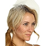 Birdcage veils ($95) are still in if it works for your dress and wedding theme.