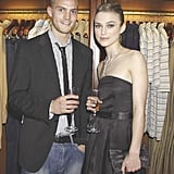 Jamie Dornan and Keira Knightley in 2004
