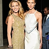 Blake Lively and Karlie Kloss got close at the CFDA Awards supper.