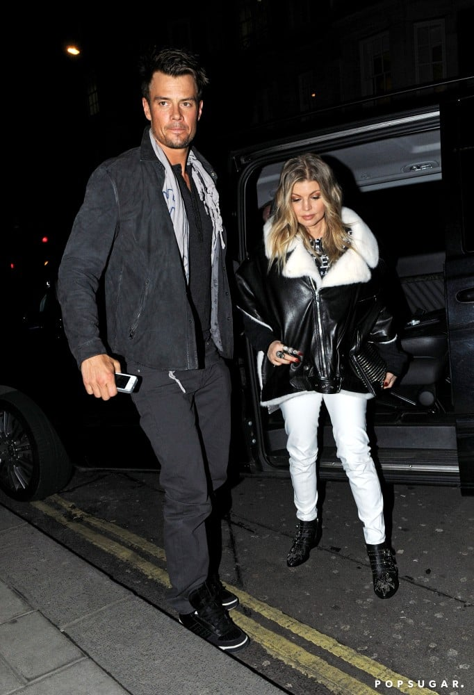 Josh Duhamel and Fergie went out in London.