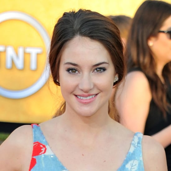 Shailene Woodley's Hair and Makeup at the 2012 SAG Awards