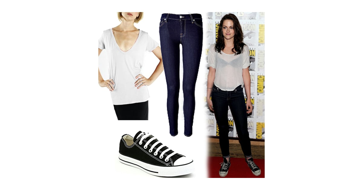 9bc09cc9228 Kristen Stewart in amazing white cuffed pants and about not giving a