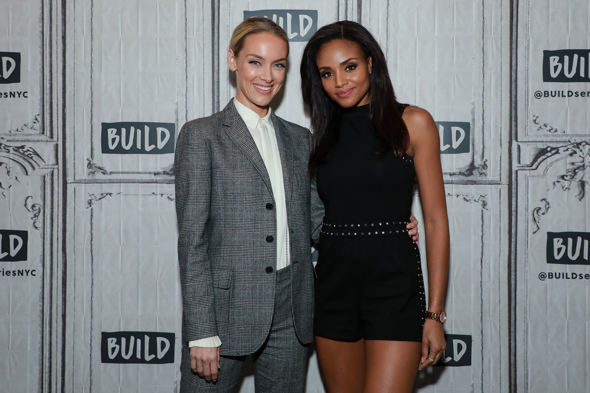 NEW YORK, NY - OCTOBER 07: Rachel Skarsten and Meagan Tandy at Build Studio on October 7, 2019 in New York City. (Photo by Jason Mendez/Getty Images)