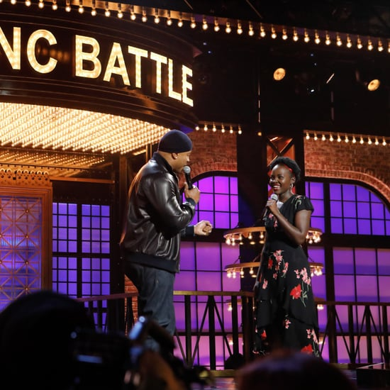 Lupito Nyong'o Singing Enrique Iglesias on Lip Sync Battle