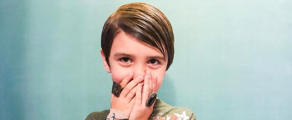Boy Dresses as SNL Character Stefon