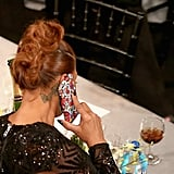 When Queen Latifah Broke Out This Cool Phone Case