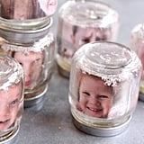 Upcycle Your Baby Food Jars Into Snow Globes