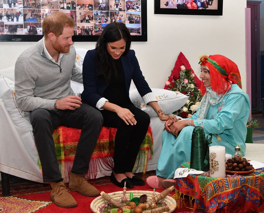 Meghan Markle Celebrated Her Pregnancy in Morocco With a Henna Tattoo For Good Luck