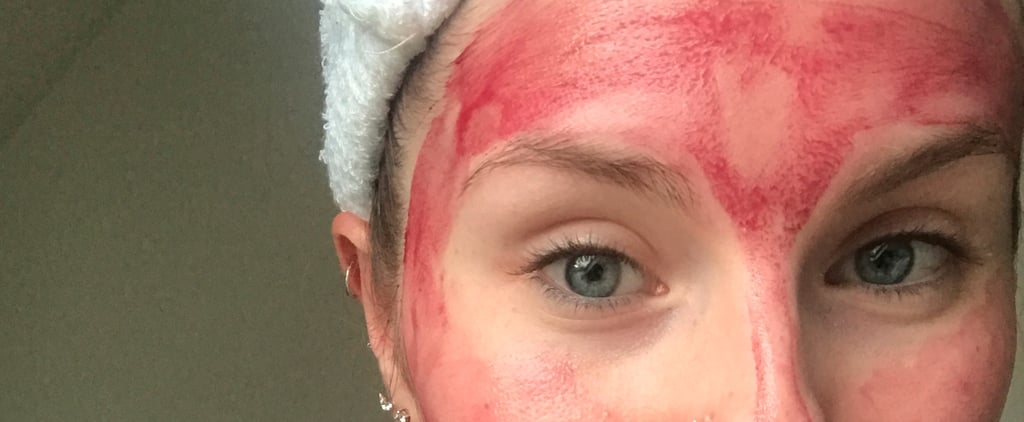 This Acid Face Mask Looks Like Blood — but Will Leave You Feeling Like a Newborn