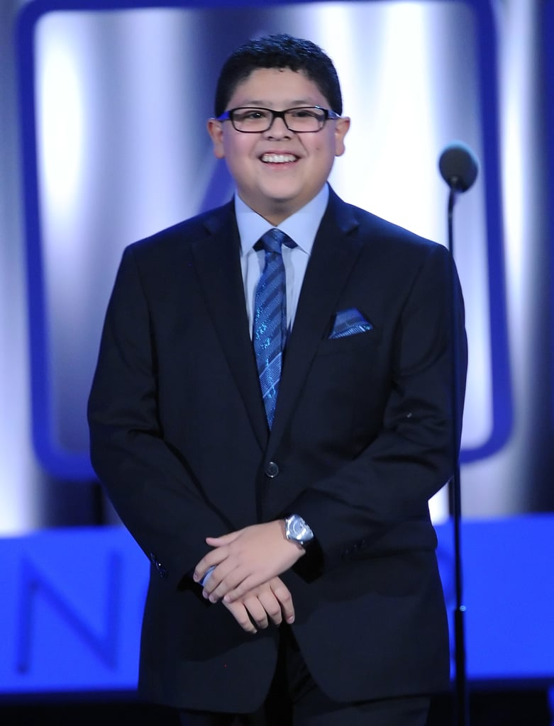 Rico Rodriguez took the stage as a presenter at the ALMA Awards.
