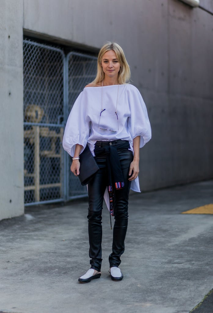 Oversize Bell Sleeves Make You Look Like a Boss —and Not Too Dainty
