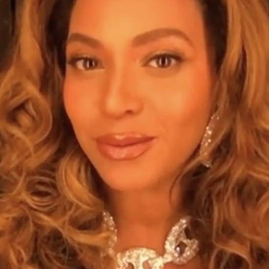 Beyoncé and Blue Ivy's Wearable Art Gala Virtual Appearance