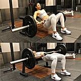 Superset 2, Exercise 1: Barbell Hip Thrust