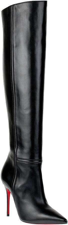 Christian Louboutin Armurabotto over-the-knee heeled boots (£1,175)