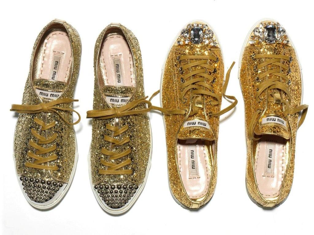 Miu Miu Introduces Super Sparkly Sneakers