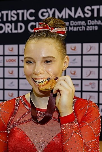 Jade Carey Qualified For Olympics as an Individual
