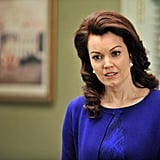 """PS: Mellie is really focused on her presidential campaign at the moment, but can we expect romance in her future?  BY: You know, I have no idea. I can never, ever, ever, ever predict what's going to happen. I mean, our season finale this year . . . things happen that I just could never have foreseen. I don't know, but I hope Mellie gets to be happy in that way at some point. It's Shondaland, though, so it's much more interesting for everybody to have a little drama than to have a lot of happiness. PS: Well, that's for sure. BY: Yeah, I never really bank on anything, but I hope she gets to be president, and I hope she gets to be in love. PS: What has been the most interesting scene for you while playing Mellie so far?  BY: One of the greatest blessings of my job, besides having it at all and sharing it with actually good-hearted, beautiful people, is that every time we get a script at our table reads, we are completely surprised by what our characters are gonna do. I swear, it would be like Sophie's Choice to even pick a favorite scene. I can remember that when I got to scream, """"Get over her!"""" at Fitz, back in early season two, I thought, """"Well, that was a lot of fun."""" It was so much fun to finally just scream it at him. I also think of the filibuster, because I couldn't have been more proud to be the girl who got to say some of that truth, because we didn't make those facts up. Those were real facts, and to get to say them in front of a wide television audience, I was really proud to be a part of that episode. Anytime you can have a long thought on a TV show, you know you're a really lucky person. PS: What has surprised you the most about this season? BY: Gosh, I've loved watching our writers respond to the mayhem that actually is the political season that we're actually living through in real life, and I've also been surprised when we have been completely outstepped by how crazy things are in reality. We've made things up that, before we even shot them, eclipsed by"""