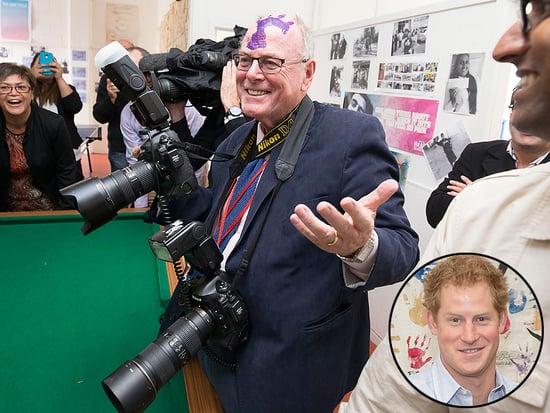 Prince Harry Plants a Big Purple Handprint on Royal Photographer's Head (PHOTO)